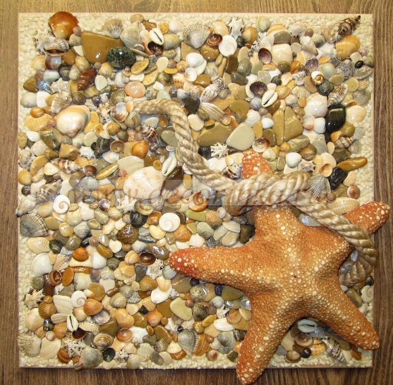 Поделки из морских ракушек и камней своими руками 48